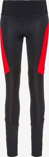GONSO Sporthose 'Tartu 2' in rot / schwarz, Produktansicht