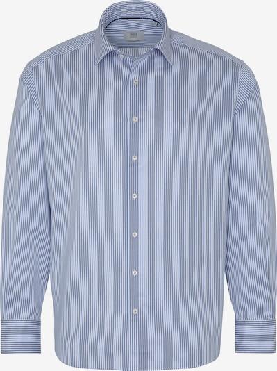 ETERNA Langarm Hemd COMFORT FIT in hellblau / perlweiß, Produktansicht