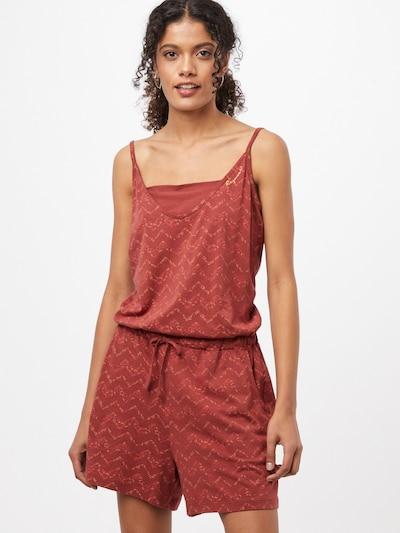 Ragwear Kombinezon 'BARA' u svijetložuta / jarko crvena / pastelno crvena, Prikaz modela