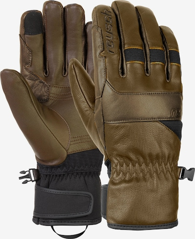 REUSCH Fingerhandschuhe 'Corey' in braun, Produktansicht