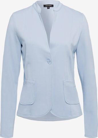MORE & MORE Shirtjacke in Blau