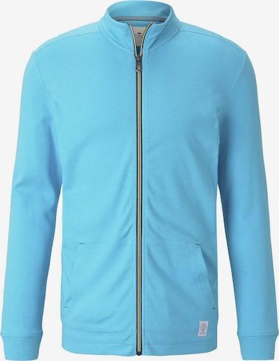 TOM TAILOR Sweatjacke in blau, Produktansicht