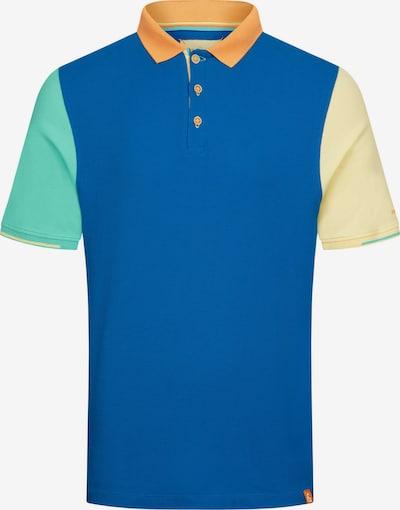 COLOURS & SONS Poloshirt Polo Colourblock RONNY in blau, Produktansicht