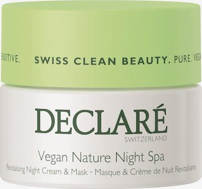 Declaré Creme & Maske 'Night Spa' in weiß, Produktansicht