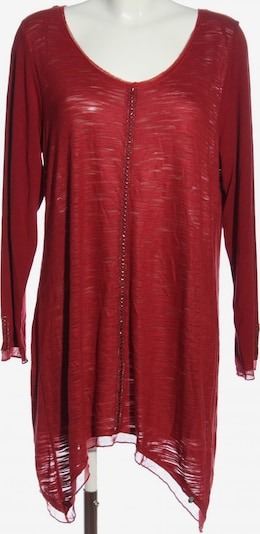 Tredy Long-Bluse in XL in rot, Produktansicht