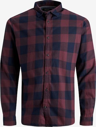 JACK & JONES Košile - noční modrá / červená třešeň, Produkt