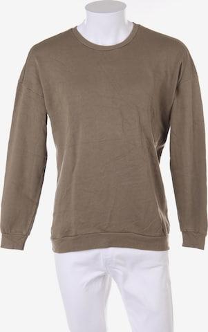 ZARA Sweatshirt in S in Grün