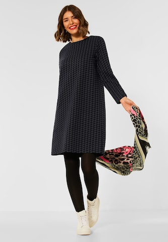 STREET ONE Knitted dress in Grey