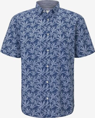 TOM TAILOR Hemd in blau / weiß, Produktansicht