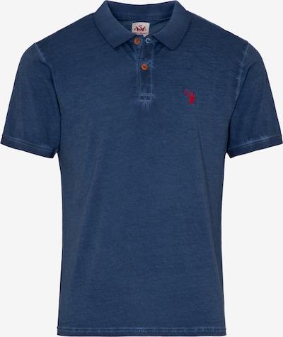 SPIETH & WENSKY Trachtenshirt in dunkelblau / rot, Produktansicht