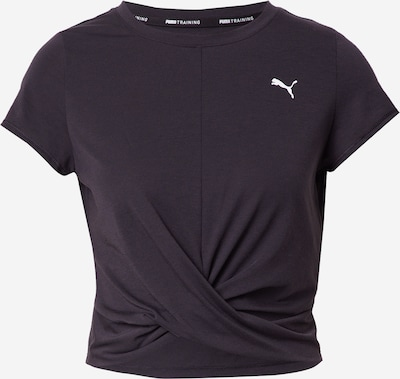 PUMA Functional shirt in Black / White, Item view
