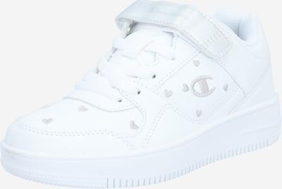 Champion Authentic Athletic Apparel Sneaker 'REBOUND' in silber / weiß: Frontalansicht