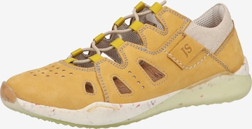JOSEF SEIBEL Lace-Up Shoes in Yellow