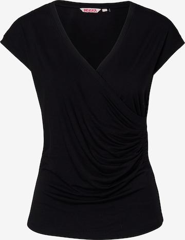Indiska Shirt 'TAWNY' in Black