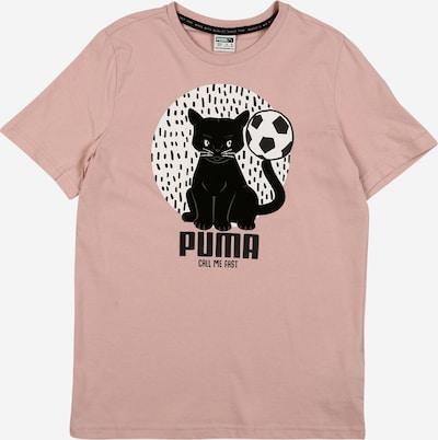 PUMA Shirt in rosa / schwarz, Produktansicht