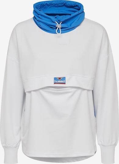hummel hive Sweatshirt in blau / weiß, Produktansicht
