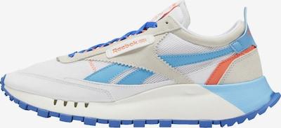 Reebok Classic Sneaker in beige / blau / hellblau / wollweiß, Produktansicht