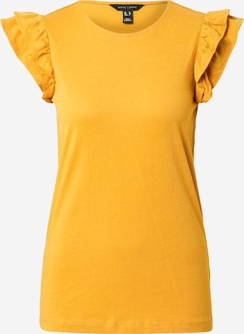 NEW LOOK Shirt in Yellow