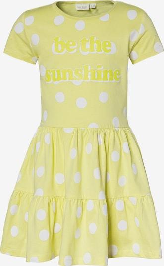myToys-COLLECTION Kleid in zitronengelb / weiß, Produktansicht