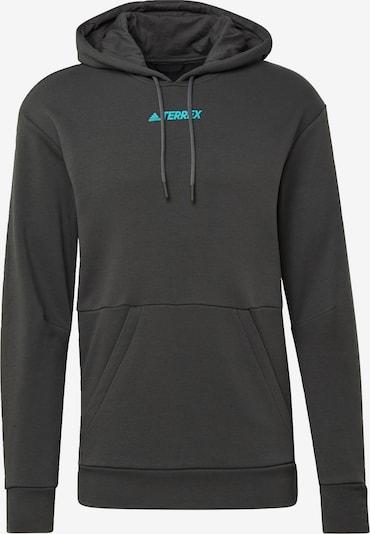 adidas Terrex Sportsweatshirt in de kleur Donkergrijs, Productweergave