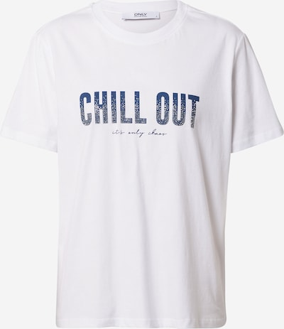 ONLY Tričko 'TRACY' - chladná modrá / bílá, Produkt