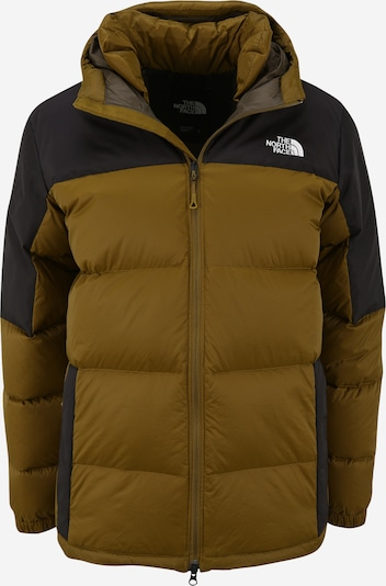 THE NORTH FACE Veste outdoor 'DIABLO' en olive / noir / blanc, Vue avec produit