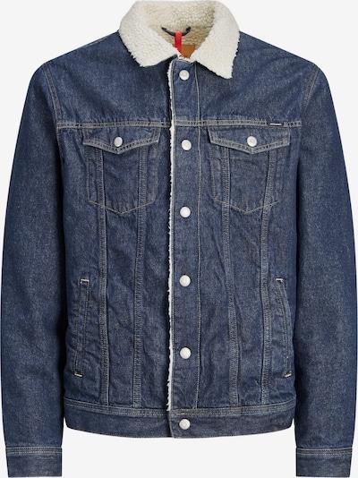 JACK & JONES Jacke in blue denim / weiß, Produktansicht