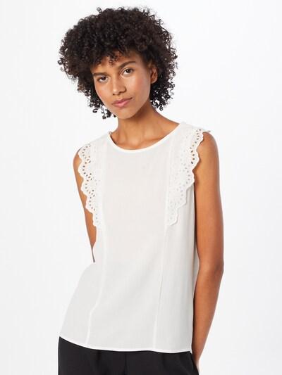 NAF NAF Bluse 'JEREMIA' in beige, Modelansicht
