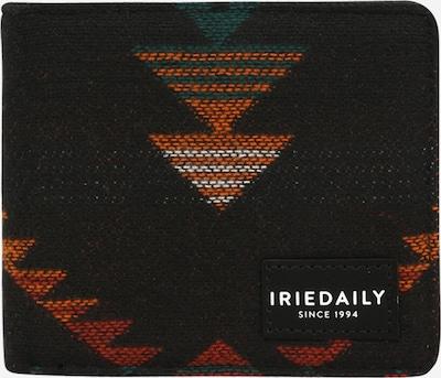 Iriedaily Geldbörse in petrol / orangerot / schwarz, Produktansicht