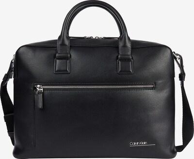 Calvin Klein Laptoptasche in schwarz: Frontalansicht