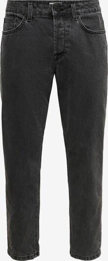 Only & Sons Jeans 'Avi' in black denim, Produktansicht