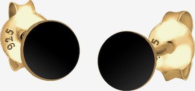 ELLI Ohrstecker in schwarz, Produktansicht