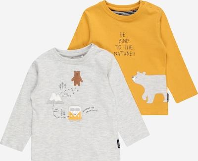 STACCATO Shirt in dunkelgelb / grau, Produktansicht