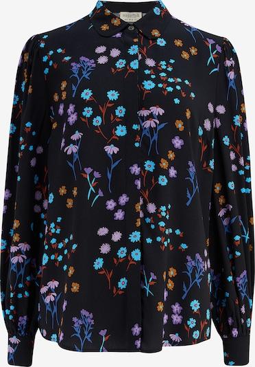 Bluză 'Prudence' Sugarhill Brighton pe albastru / azuriu / lila / portocaliu / negru, Vizualizare produs