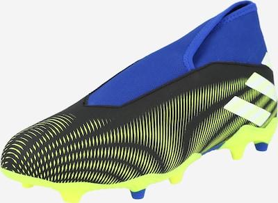 ADIDAS PERFORMANCE Voetbalschoen 'Nemeziz 19.3' in de kleur Navy / Neongeel / Zwart / Wit, Productweergave