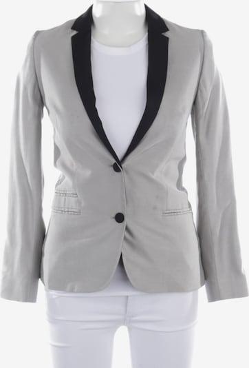 Zadig & Voltaire Blazer in XS in schwarz / silber, Produktansicht