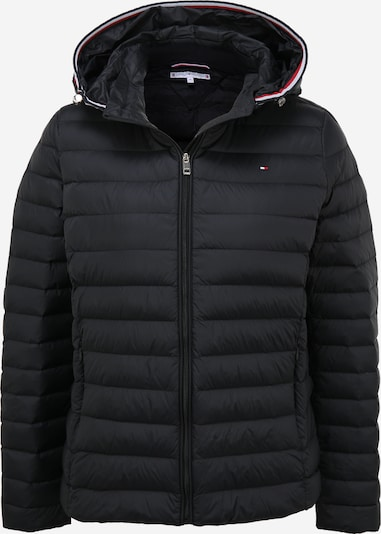 TOMMY HILFIGER Jacke in dunkelblau / rot / schwarz / weiß, Produktansicht