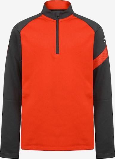 NIKE Functioneel shirt in de kleur Sinaasappel / Zwart, Productweergave