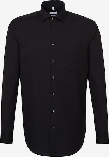 SEIDENSTICKER Business Hemd ' Regular ' in schwarz, Produktansicht