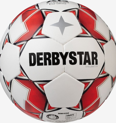 DERBYSTAR Ball in rot / weiß, Produktansicht