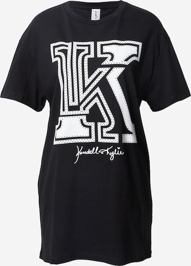 KENDALL + KYLIE Tričko 'Applic' - černá / bílá, Produkt