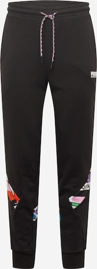 PUMA Sporta bikses jauktu krāsu / melns, Preces skats