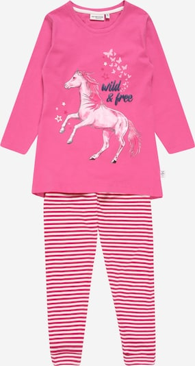 SALT AND PEPPER Pyžamo - marine modrá / růžová / starorůžová / bílá, Produkt