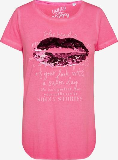 Soccx T-Shirt in pink, Produktansicht