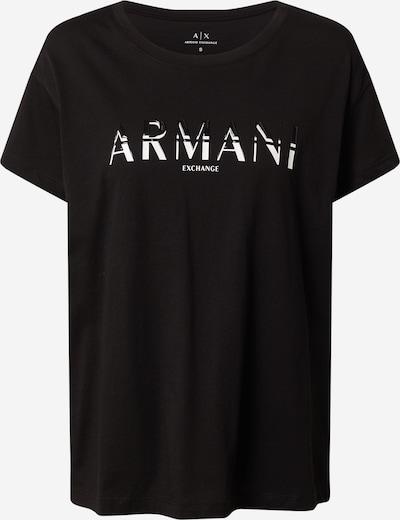 ARMANI EXCHANGE T-shirt '3KYTGD' en noir / blanc, Vue avec produit