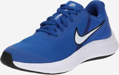 Scarpa sportiva 'Star Runner 3' NIKE di colore blu reale / nero / bianco, Visualizzazione prodotti