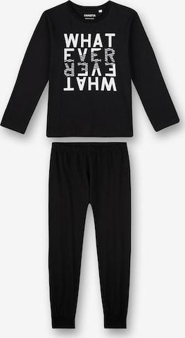 SANETTA Pajamas in Black