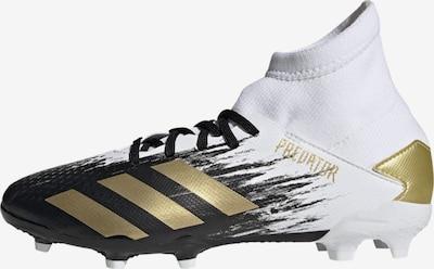 ADIDAS PERFORMANCE Fußballschuh 'Predator Mutator 20.3 FG' in gold / schwarz / weiß, Produktansicht