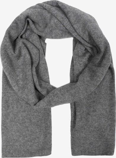 Zwillingsherz Sjaal in de kleur Grijs, Productweergave