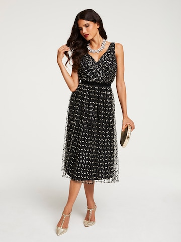 heine Cocktail Dress in Black